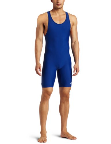 ASICS Herren Solid Modified Singlet, Herren, Solid Modified Singlet, königsblau, Medium (Asics Wrestling)