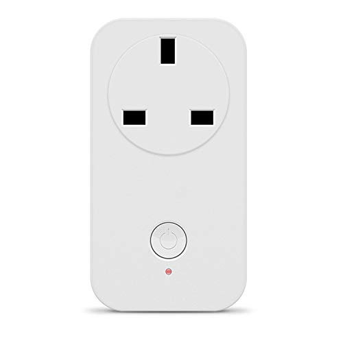 WY-Tong Steckdose WLAN-Flauch-Sockel-Englisch-Stecker Google Home Home Mini-Timing-Schalter Socket