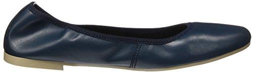 Tamaris Damen 22128 Geschlossene Ballerinas, Blau (Navy Leather), 40 EU