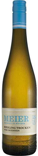 Riesling vom Urgestein | Weingut Meier | Pfalz | (1x 0,75l) Weißwein-trocken