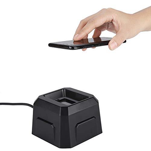Lettore di codici a barre 1D / 2D, lettore di codici a barre automatico Scanner da tavolo Scanner da tavolo Lettore di codici a barre, scanner di codici QR cablato USB per negozio di alimentari