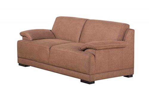 ALESSANDRIA 2er Boxspringsofa 2-Sitzer Sofa Couch Kamel -