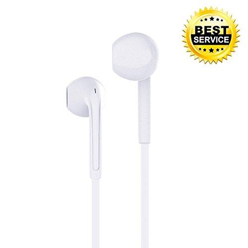 Iphone auricolari moker auricolari con telecomando e microfono & controllo remoto per iphone 6s plus/6s, iphone 6/6 plus, iphone 5s/5c/5/4s, ipad mini/ipad air/ipad pro (bianco)
