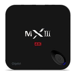 Android 5.1 Smart TV Box MXIII-G Amlogic S812 Quad Core Mini PC 2GB Ram 16GB Rom 3D 4K Full HD 1080P Dual Wifi Buletooth 4.0
