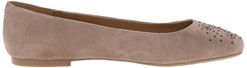 Nine West Gemma Suede Ballet Flat Light Natural