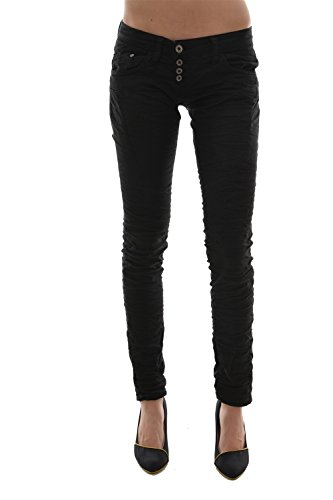 Please Jeans P68c schwarz Gr. Medium, Schwarz