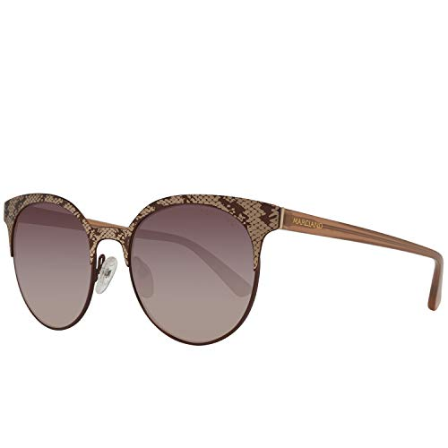 Guess by marciano sonnenbrille gm0773 49f 52 occhiali da sole, marrone (brown), 52.0 donna