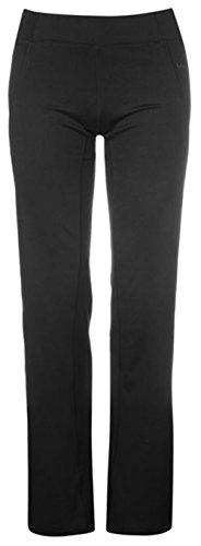 ladies-straight-stretch-yoga-training-pants-trousers-16-black