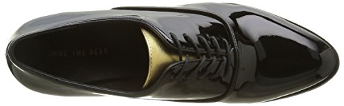 Shoe the Bear Gigi Black, Oxfords Femme Noir (Black)