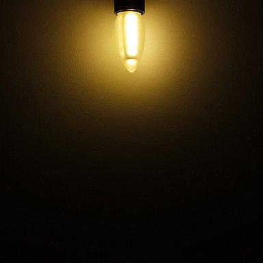 FDH 3W E26/E27 Luces de velas LED SMD 5050 C35 16 180 lm decorativo blanco cálido 220-240 V CA