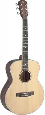 James Neligan ASY-A MINI viaje de la guitarra acústica de abeto sólida / Caoba bolsillo naturales
