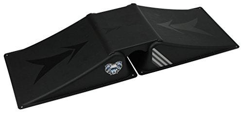 Black Dragon Skateboardrampe Funbox Rampe 2 plus 1 Set, Black, One Size