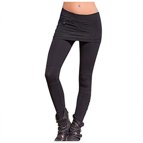 italily-pantaloni yoga donna pantaloni leggings con gonna da tennis pantaloni donna stretching pantaloni da yoga a vita alta pantaloni yoga da elastici sportivi leggings