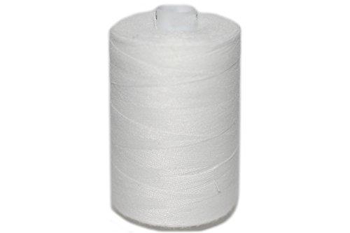 dalipo 27001 - Polyester Nähgarn 1000m, weiß