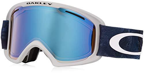 Masque de Ski O-frames 2.0 XL - Mystic Flow Poseidon - High Intensity Yellow + Dark Grey