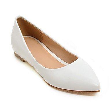 Confortevole ed elegante piatto scarpe donna Appartamenti Primavera Estate comfort informale in similpelle tacco piatto altri Nero Blu Rosa Rosso Bianco Beige a piedi White