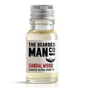 The Bearded Man Company Bartöl Sandelholz, 10ml