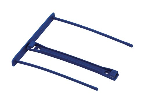 Fellowes Bankers Box 00898 - Fastener de plástico clip para carpeta archivadora, 100 mm, color azul