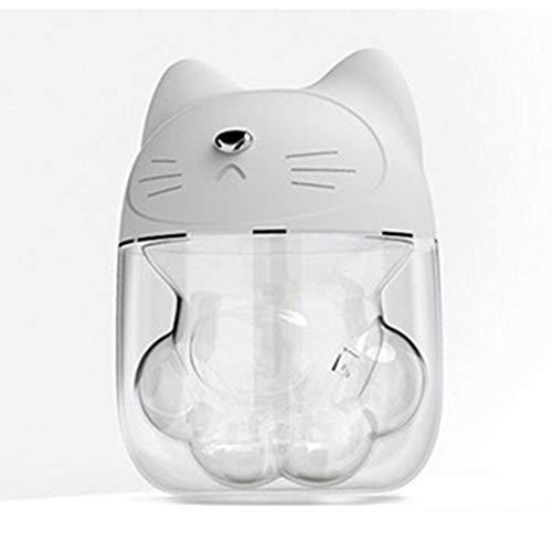 Antennababy Tragbarer Luftbefeuchter Mini-Luftbefeuchter, niedlicher Haustier-Katze-Greifer-Luftbefeuchter Tragbarer