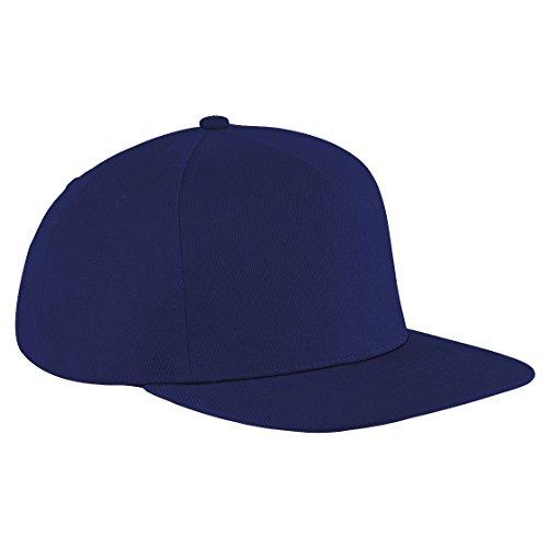 Beechfield - Casquette à visière plate - Unisexe Bleu Marine