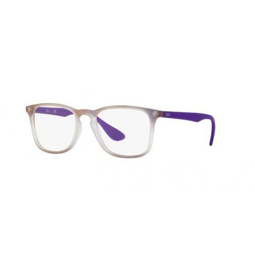 Ray-Ban Unisex-Erwachsene Brillengestell RX7074, Schwarz (Negro), 52