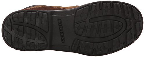 Skechers - Segment melego, Scarpe stringate Uomo Dark Brown