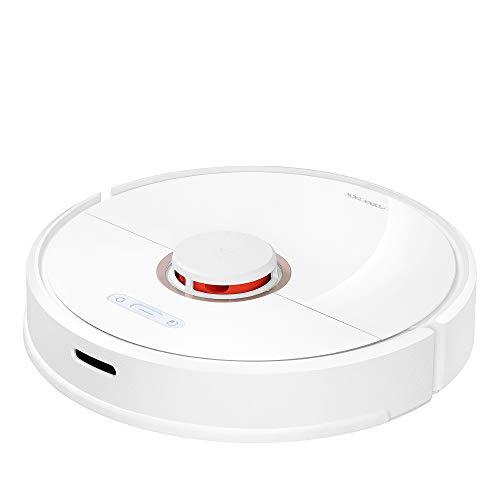 Xiaomi Mi Roborock S6 white, Wischfunktion, Saugleistung 2000Pa, Virtuelle Wände, Steuerung per App, 360° Abdeckung, Intelligente Wegplanung; Echtzeit Raumkarten