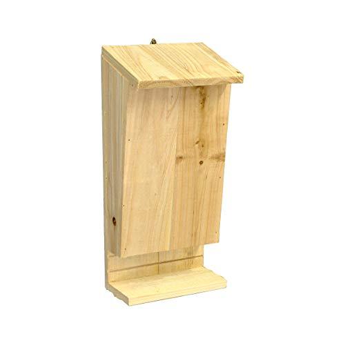 Casetta per pipistrelli con trespolo di atterraggio