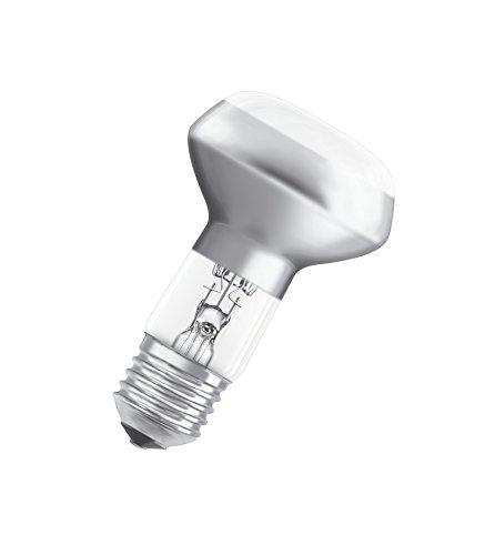 Osram Classic R63 Halogen-Lampe, E27-Sockel, dimmbar, 30 Watt - Ersatz für 40 Watt, Warmweiß - 2700K, 2er-Pack