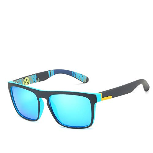 WULE-RYP Polarisierte Sonnenbrille mit UV-Schutz Männer Bunte Film Sports Sonnenbrillen, polarisierte Sonnenbrillen, elastisch. Superleichtes Rahmen-Fischen, das Golf fährt (Farbe : I)