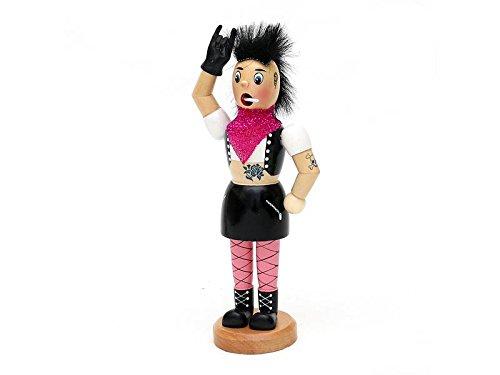 Dekohelden24 Räucherfrau als Punk Lady, ca. 19 cm
