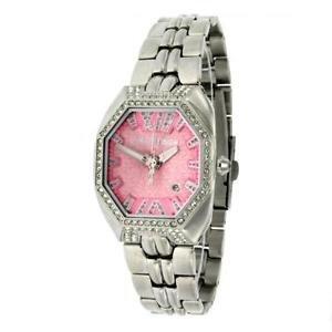 Chronotech orologio analogico quarzo donna con cinturino in acciaio inox ct7940ls-07m