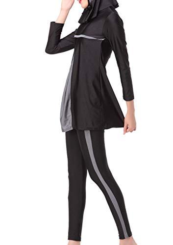 BOLAWOO-77 Islam Musulmán De Las Mujeres Lleno Largo Modesto Traje Mode De Marca De Baño Islámico...