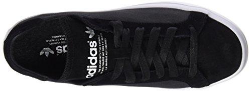 adidas Damen Courtvantage W Basketballschuhe Schwarz (Core Black/Core Black/Ftwr White)