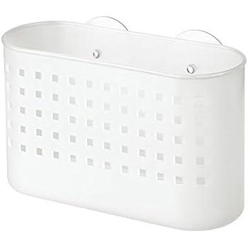 Duschzubehör interdesign basic duschkorb duschzubehör ohne bohren mit saugnapf