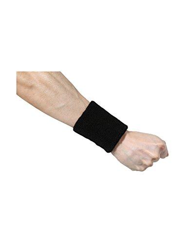 Weißes Athletisches Band (sourcingmap® 10 Pack Athletisch Baumwolle Frottier dünn Handgelenk Schutz Schweißband)