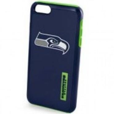 Forever Collectibles NFL Seattle Seahawks Auswirkungen TPU 2 teilige Dual Hybrid iPhone 7/6/6S Cover - 11,9 cm Bildschirm nur -