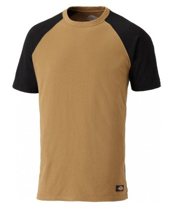 Dickies T-Shirt Two Tone SH2007, Verschieden Farben und Größen, Optimale Passform, Passend zur Everyday 24/7 Kollektion 2017 Schwarz/Lime