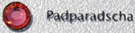 Zipperstop Swarovski Crystal Rhinestones ~ Style #2028 Flatback Rhinestones~ Size 20ss ~ Padparadscha (50 Pcs)
