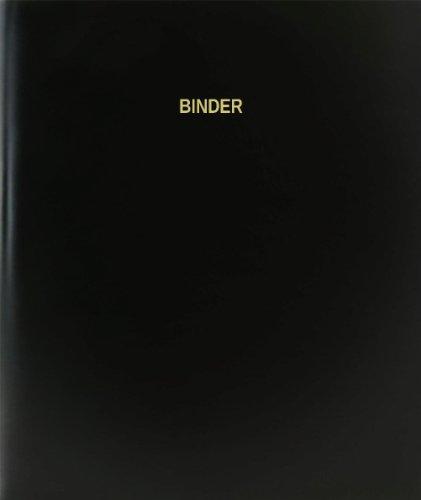 BookFactory® Binder Log Book / Journal / Logbook - 120 Page, 8.5