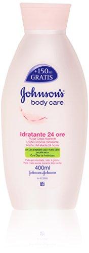 Johnson'S - Fluida Corpo Nutriente, Con Olio Di Mandorle Dolci E Avena Sativa - 400 Ml