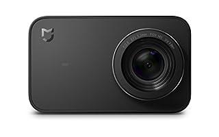 "Xiaomi Mi Action Camera 4K - Cámara Deportiva (graba 4K a 30 fps, Gran Angular de 145°, estabilizador electrónico de 6 Ejes, Pantalla táctil de 2,4"", Lente de 7 Elementos, Sensor Sony IMX317), Negro (B077P749GN) | Amazon Products"