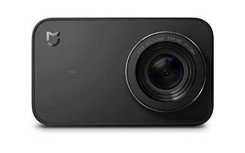 Xiaomi Mi Action Camera 4K 16293, Registrazione video in 4K a 30 fps, Sensore Sony IMX317, Nero