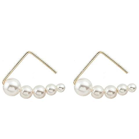 Womens Ear Studs ,Clode® 1Pair Ladies Girls Fashion Personality Geometric
