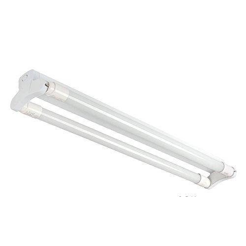 Halterung Fassung für 2x 120cm LED Röhren, LED Fassung, Leuchte für LED T8, G13