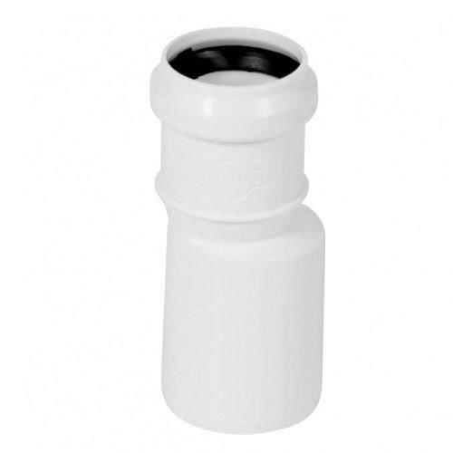 Lange gerade Rohrreduktion Anschluss Abwasser Kanalisation 50mm bis 32mm