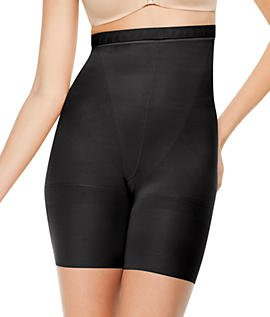 Spanx Womens Slimproved Higher Power Shapewear Panties - Tummy & Thigh Control Black