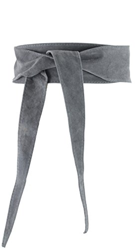 histoireDaccessoires - Ceinture Cuir Femme - CE003933V-OE-Pepita Gris Fonce