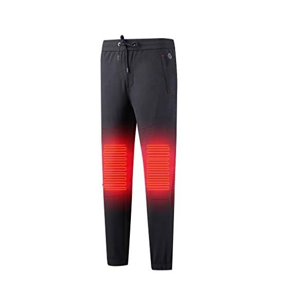 Shenye - Pantalones térmicos para niños de 3 a 9 años, con calefacción por USB, para niños Grandes y niñas, para… 1