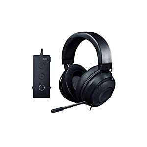 Razer Kraken Tournament Edition THX 7.1 Surround Sound Gaming Headset: Aluminum Frame – Retractable Noise Cancelling Mic…